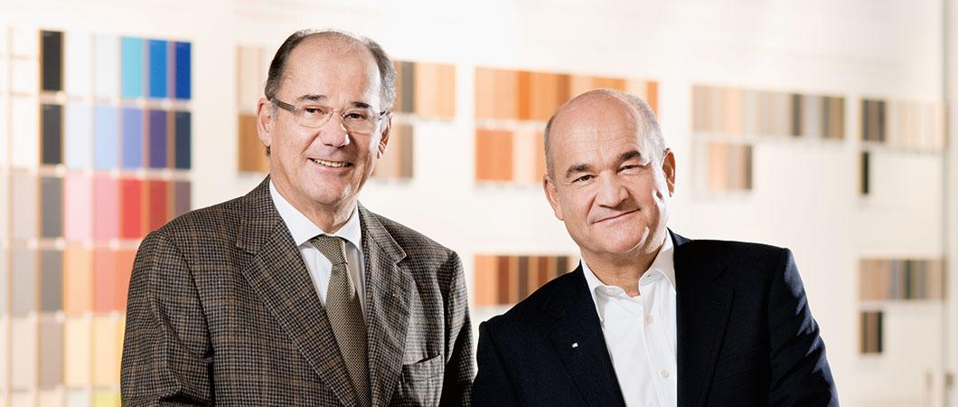 Michael et Fritz Egger