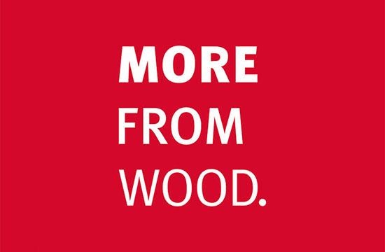 We maken meer uit hout.