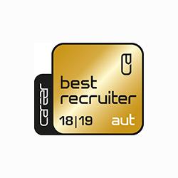 Best Recruiter Österreich  18/19