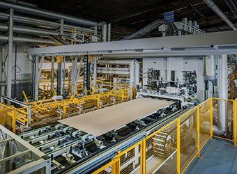 Wood-based material production  and further processing