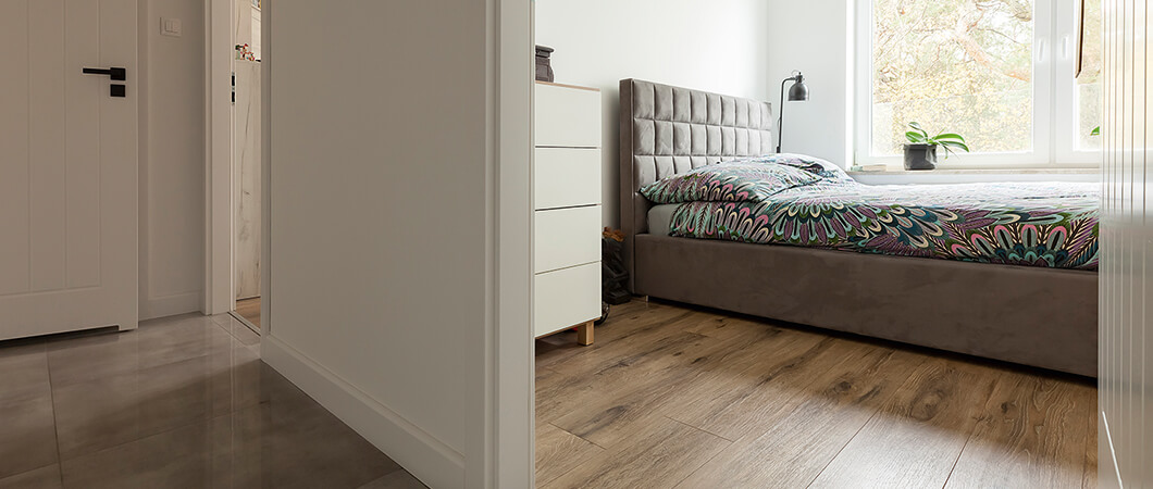 Der EGGER Laminatboden – ein Allrounder für jede Wohnung.