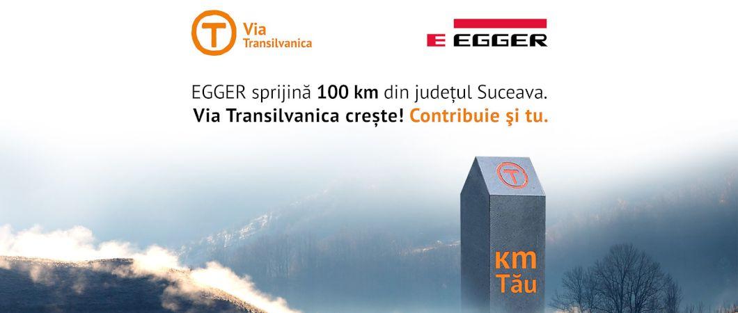 EGGER susține proiectul Via Transilvanica