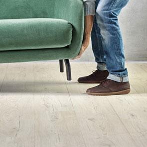 Self-repairing floors