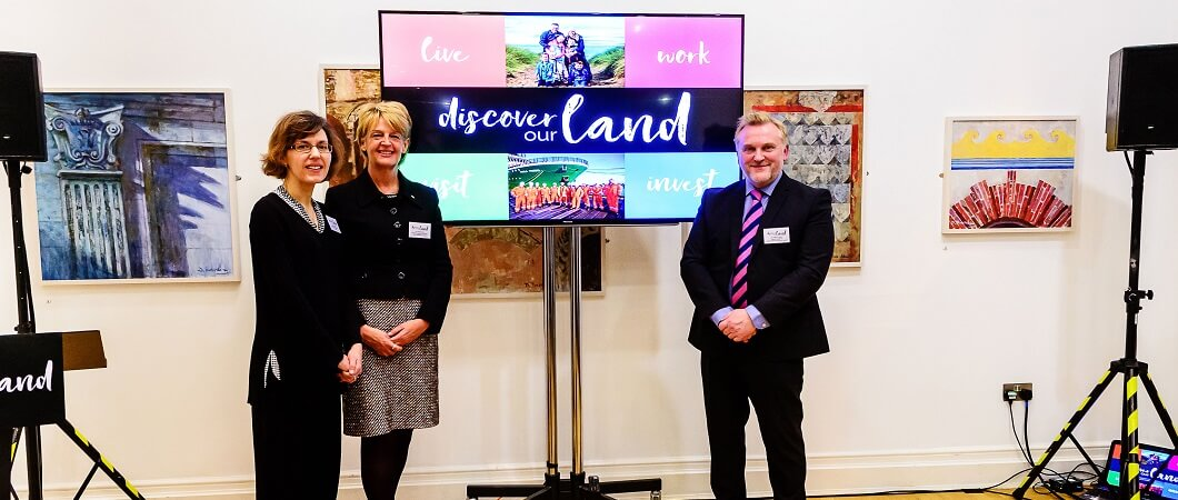 Discover our Land Hexham roadshow event involved Jackie Watson, EGGER; Councillor Cath Homer and Councillor Wayne Daley.
