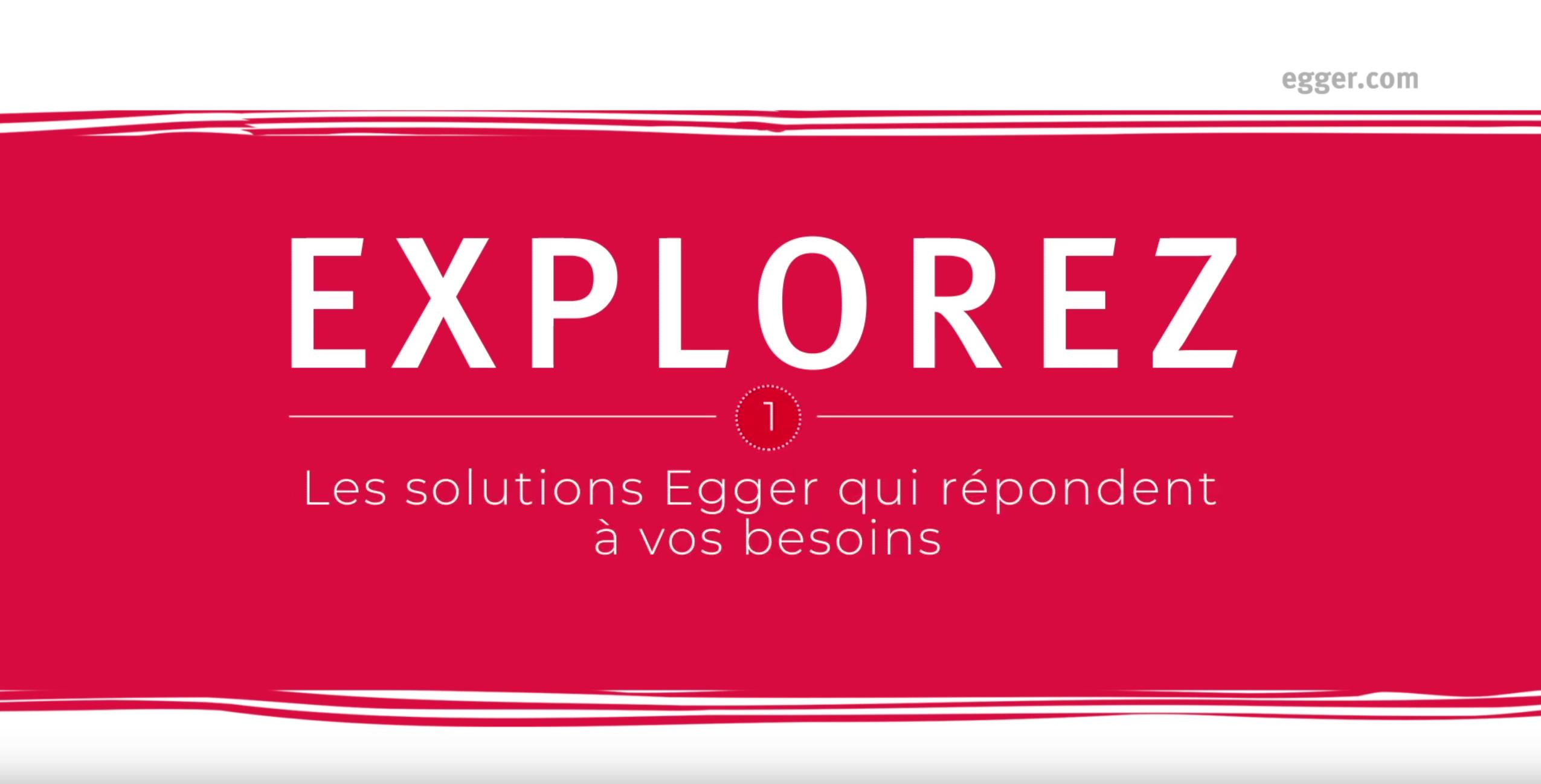 Gagnez en efficacité avec les solutions Egger
