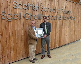 Winner of 'Best Final Year Forest Management Plan' at the Scottish School of Forestry