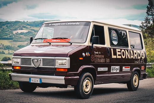 In Viaggio con Leonardo - Il Camper d'arte