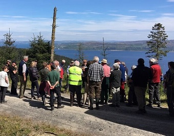Royal Scottish Forestry Society (RSFS) Annual Tour to Argyll