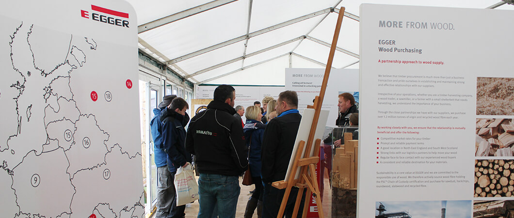 EGGER Forestry at the Northumberland County Show 2019