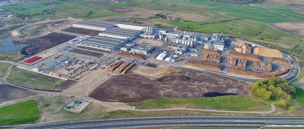 The 19th plant of the EGGER Group in Biskupiec, Poland, started to operate.