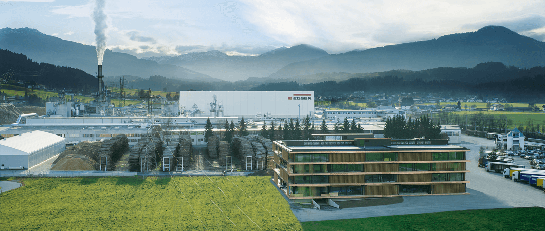 The EGGER Group's success story started in 1961 with the first plant built in St. Johann in Tirol. The Tyrolean family company with 9,600 employees worldwide is one of the leading wood-based materials manufacturers.