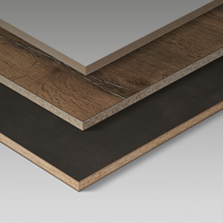 Laminate bonded boards