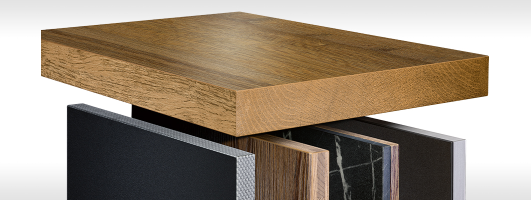 Large selection of edges for all design requirements