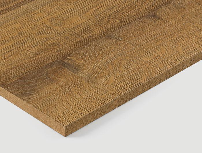 Q1344 RO Cognac Brown Sherman Oak