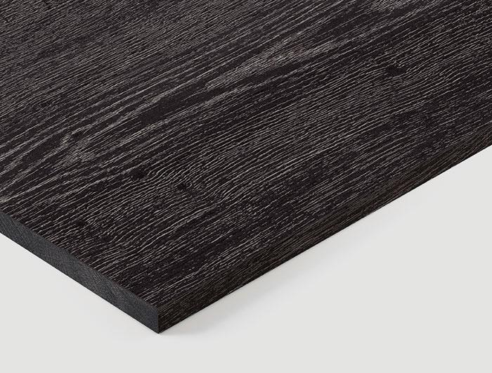 Q3178  RO Black Glazed Halifax Oak