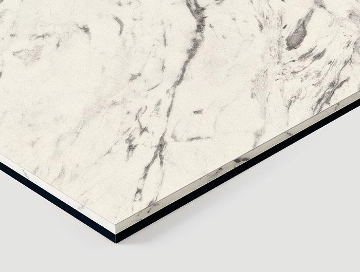 F8922 C1 Duo White Carrara Marble-Black