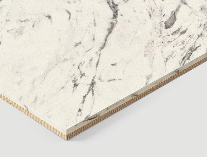 H8905 C1 Duo White Carrara Marble-Light Oak