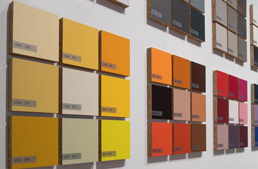 Variété des décors de la nouvelle gamme Collection & Services