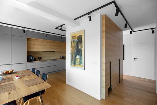 Modern apartment, Poznań