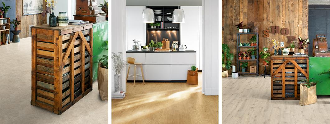 Entscheiden Sie sich für unseren natürlichen Designboden ohne PVC