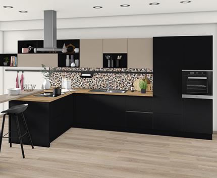 Kuchyně H3330 ST36 Dub Anthor přírodní