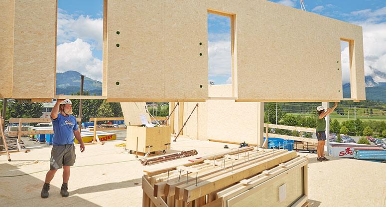 Ściany w drewnianych konstrukcjach szkieletowych
