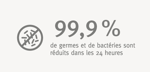 Surfaces antibactériennes EGGER : sûres en toute situation