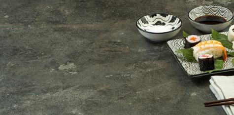 25mm Square Edge worktop F121 ST87 Anthracite Metal Rock