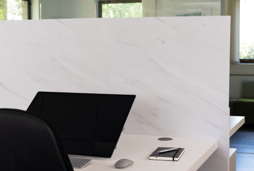 F812 ST9 White Levanto Marble