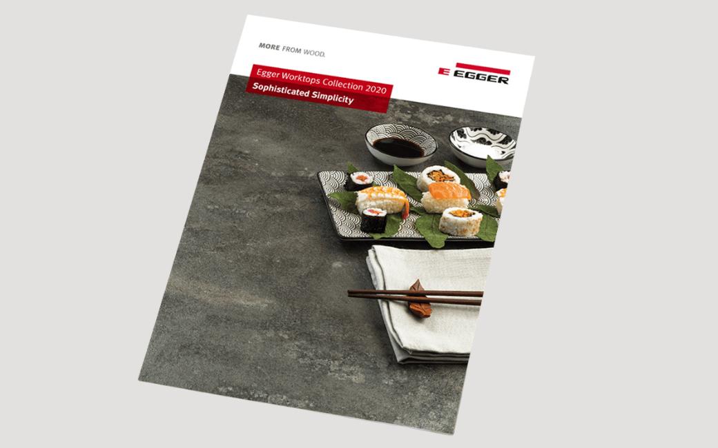 EGGER Worktops Collection 2020 Brochure Marketing Materials