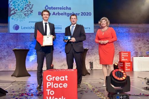 EGGER zählt zu den besten Arbeitgebern Österreichs
