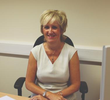 EGGER Hexham's longest serving employee Alison Bird.