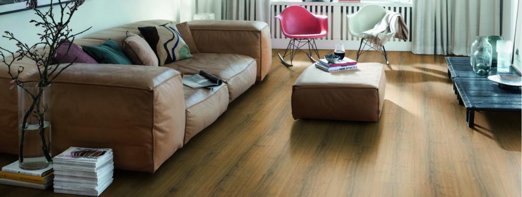 EGGER PRO Laminate Flooring - EPL184 Cognac Brown Sherman Oak