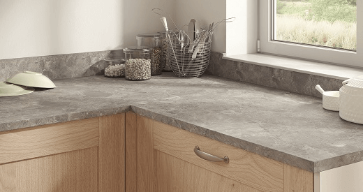 25mm Worktops - F076 ST75 Grey Braganza Granite