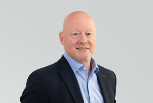 Bob Livesey, Commercial Director for Western Europe Division.