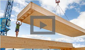 EGGER OSB 4 TOP – wenn Holzbau einfach klappen muss.