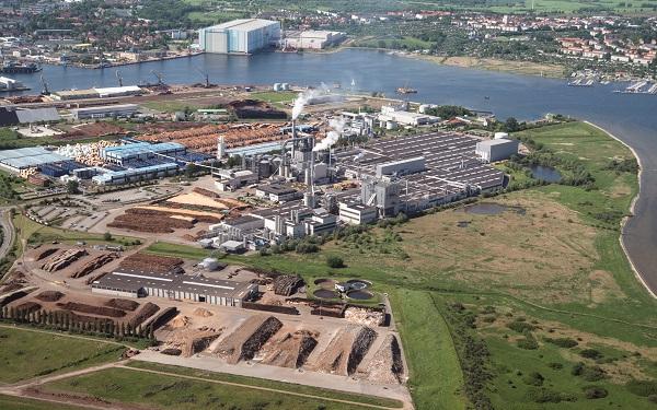 EGGER plant in Wismar, Germany
