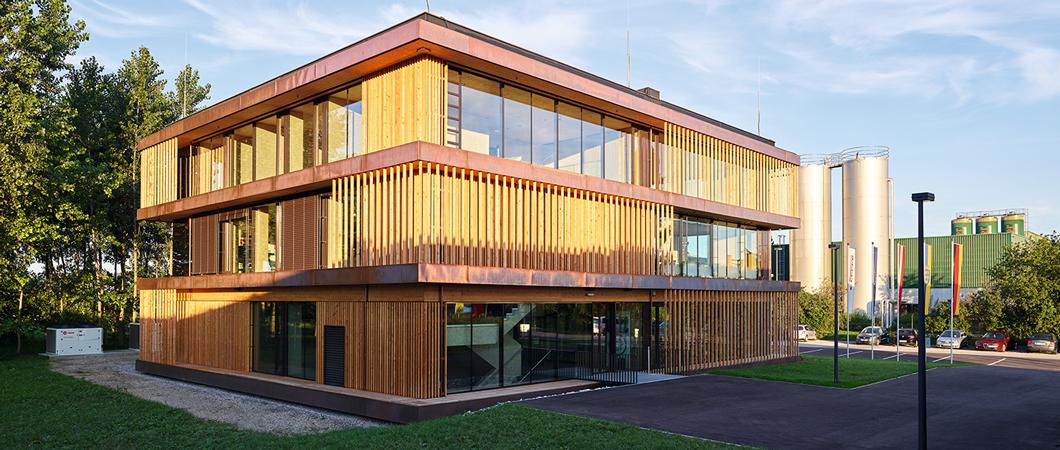 Noua clădire Forum de la fabrica Unterradlberg a fost finalizată vara aceasta.