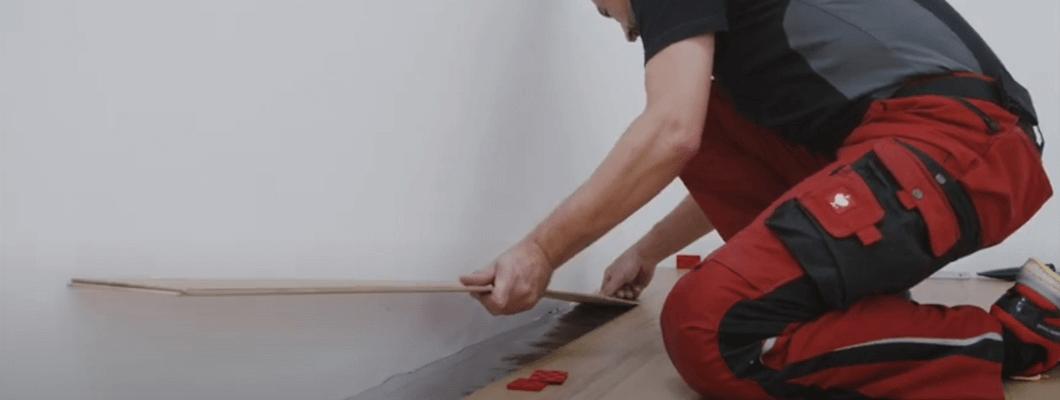 Flooring installation with CLIC it!