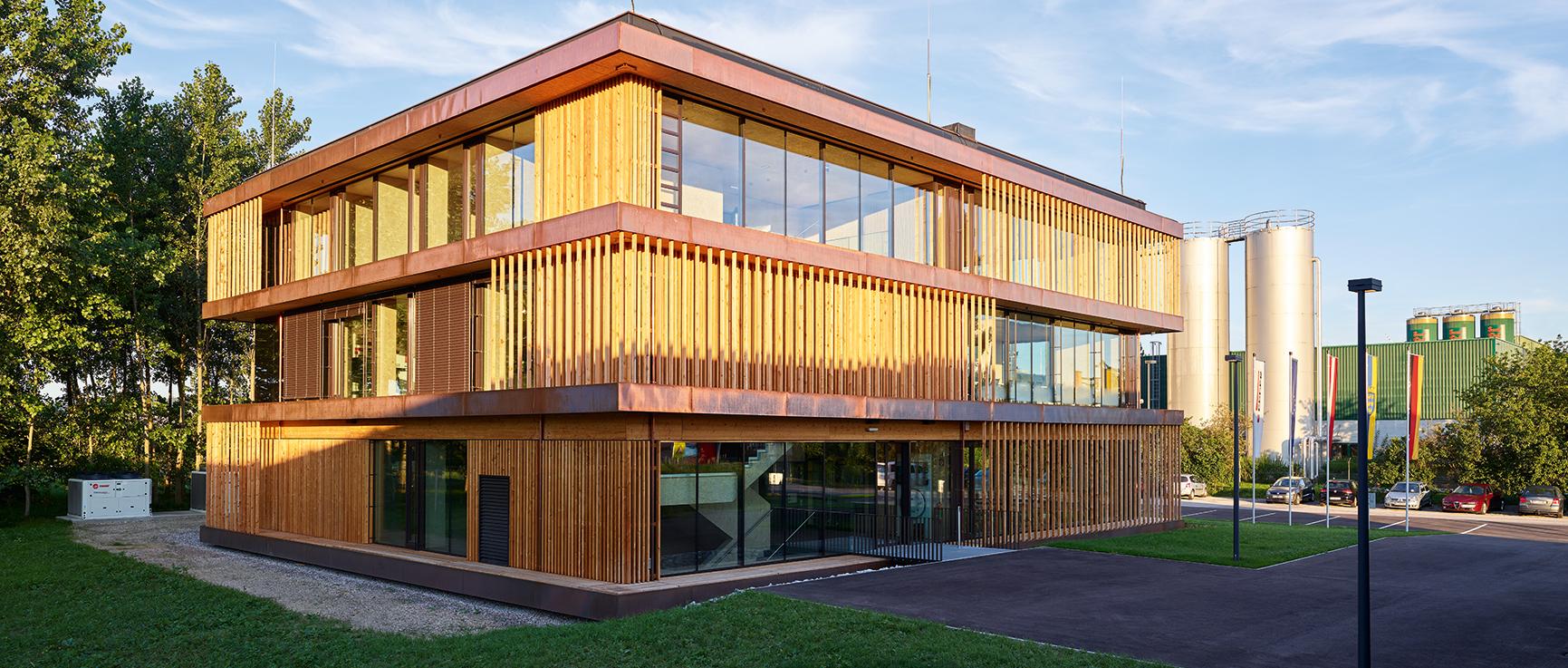 Nuovo edificio Forum, Unterradlberg (AT)