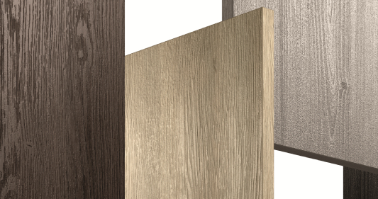 The look and feel of natural wood