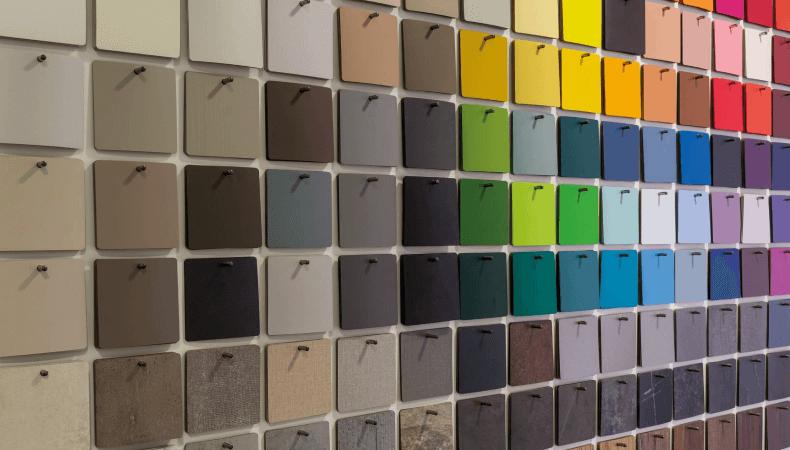Laminate Design Wall