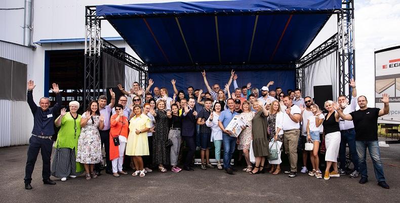 Открытие филиала компании «Древиз» в Курске