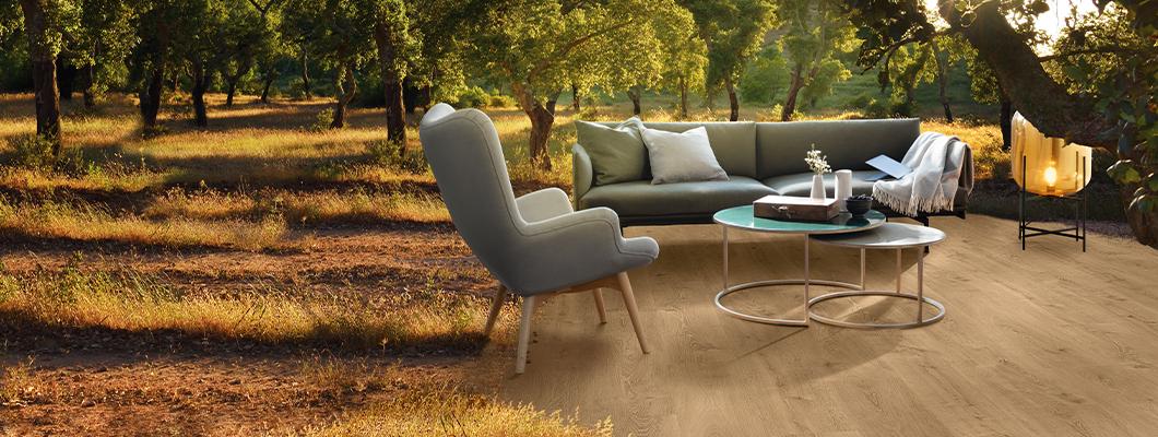 EGGER Comfort-Boden mit Kork: Die Natur zieht ein