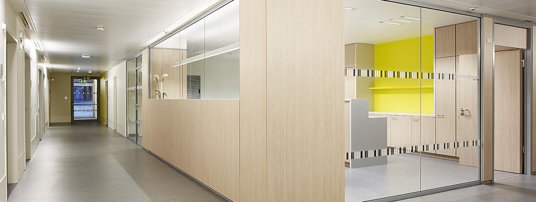 Eurodekor Flammex, Wandverkleidung Krankenhaus (BRD)